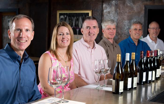 Wine tasting panel