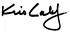 kris kalef signature