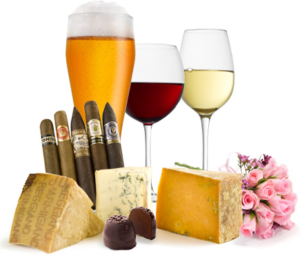 The Beer, wine, cheese, cigar, chocolate, and cheese of the month clubs travel product recommended by Kris Calef on Lifney.